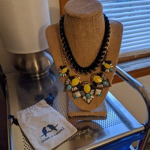 Chloe + Isabel Limoncello Statement Necklace Set